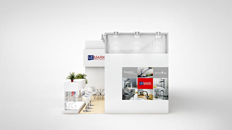 дизайн и производство выставочных стендов